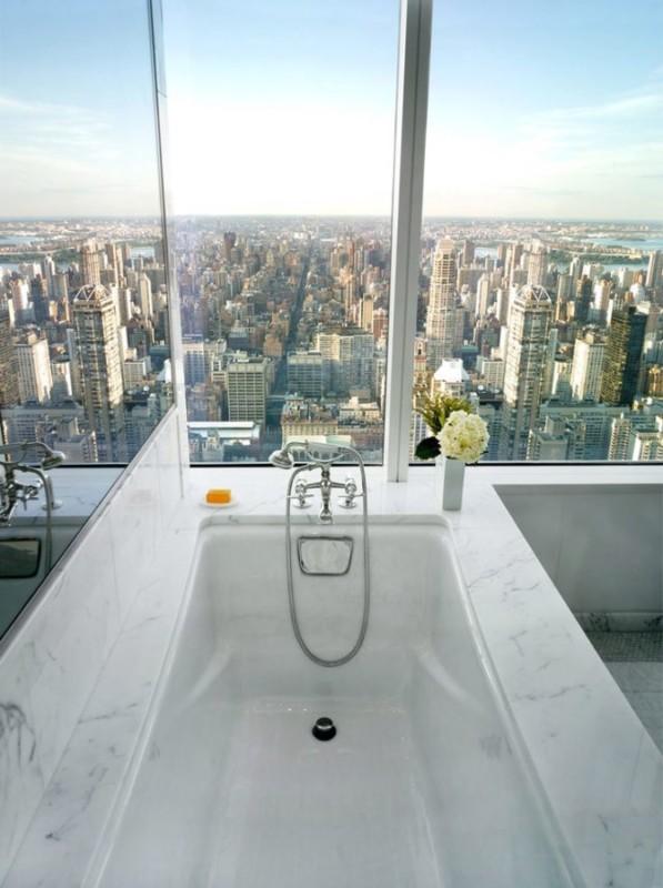 Kąpiel z widokiem