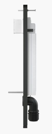 stelaże wc z boku