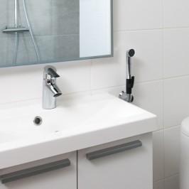 Baterie umywalkowe z funkcją prysznica