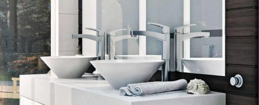 Wybieramy baterie umywalkowe - baterie umywalkowe nablatowe