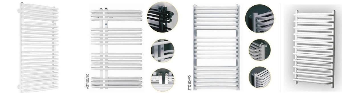 Grzejniki łazienkowe dużej mocy - porównanie modeli
