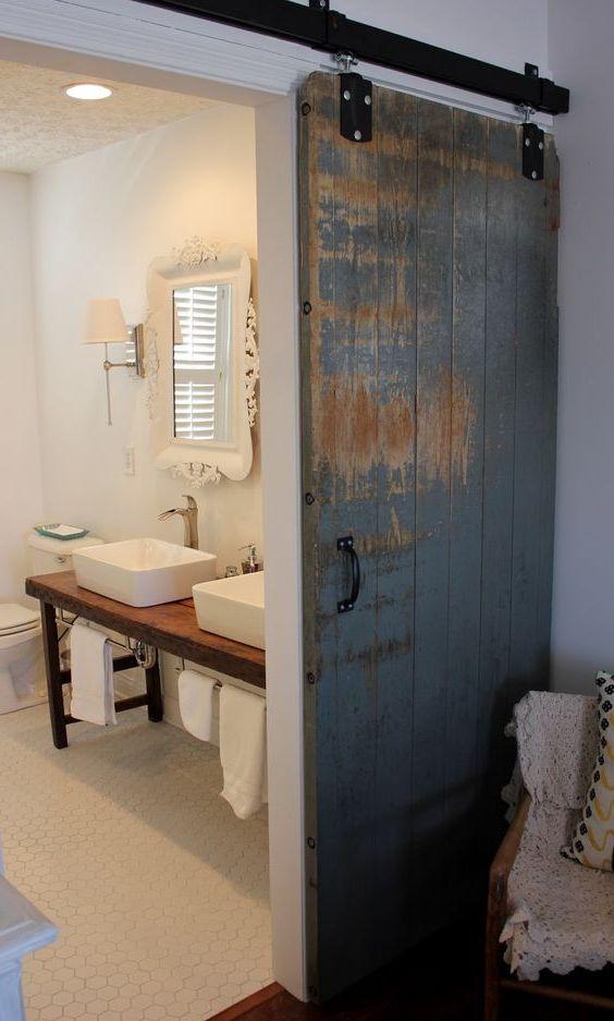 Drzwi przesuwane do łazienki