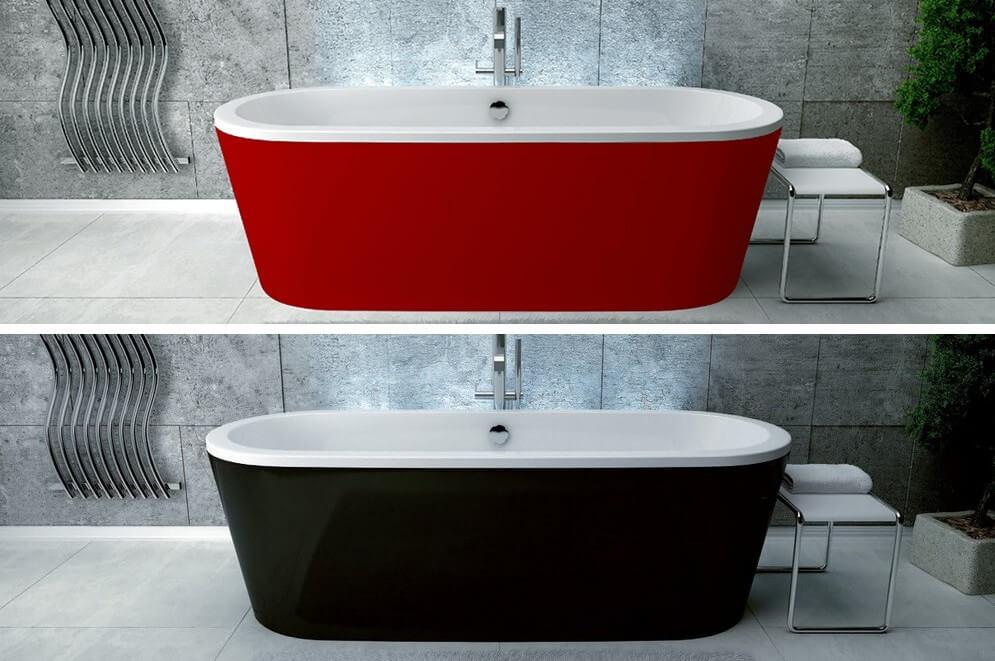 Wanna Besco Victoria kolory czerwony i czarny